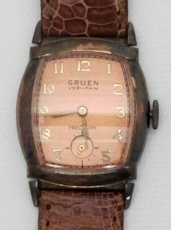 Gruen Very-Thin Mechanical Wrist Watch