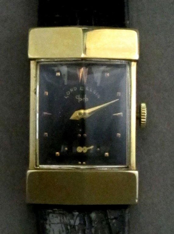 Lord Elgin Mechanical Wrist Watch 14K 626