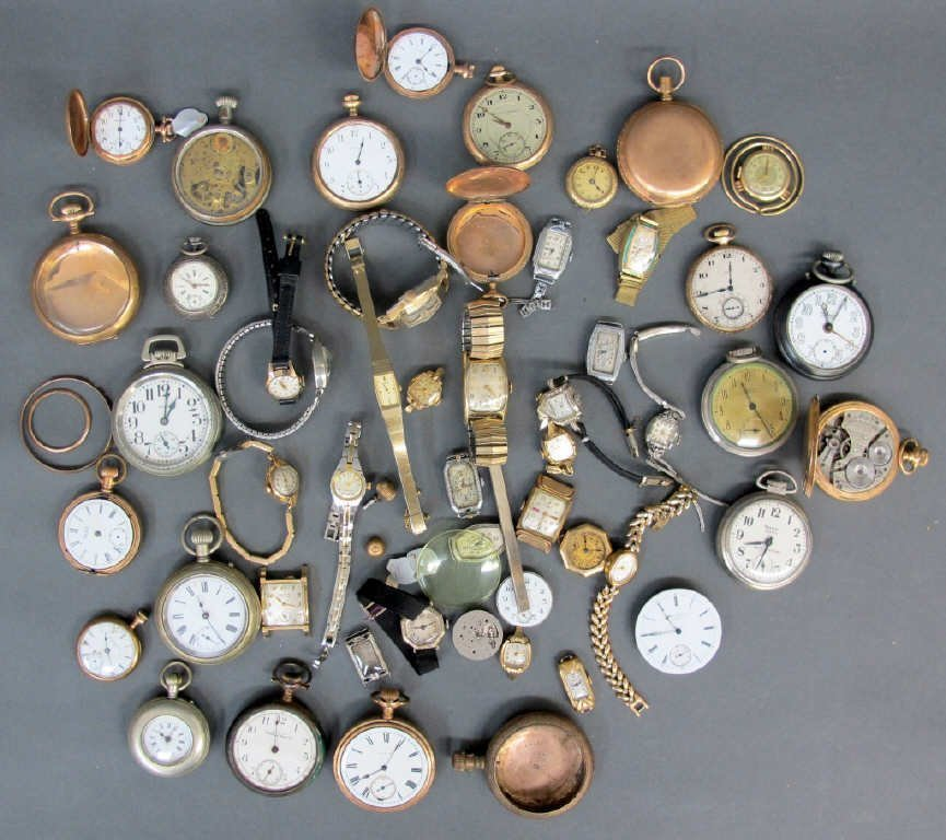 Lot of Assorted Watches/Parts Etc.