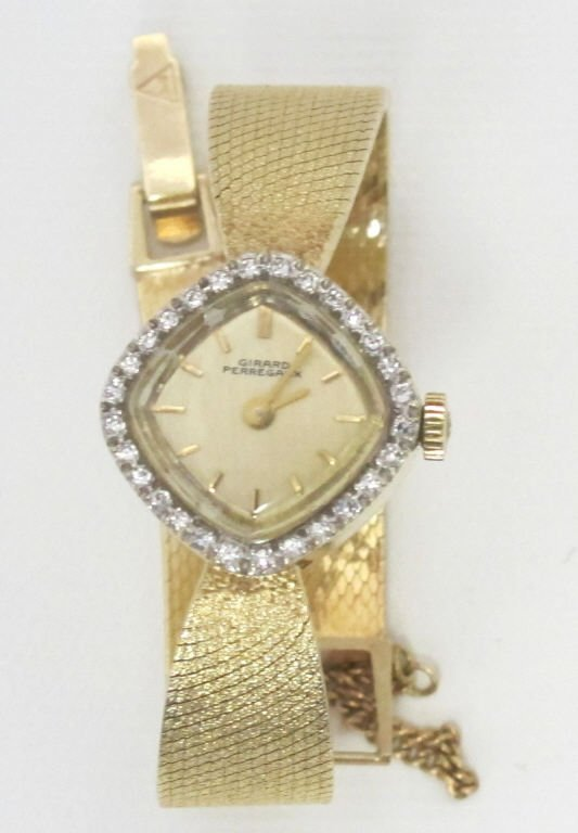 Girard Perregaux Lady's Yellow 14K Watch