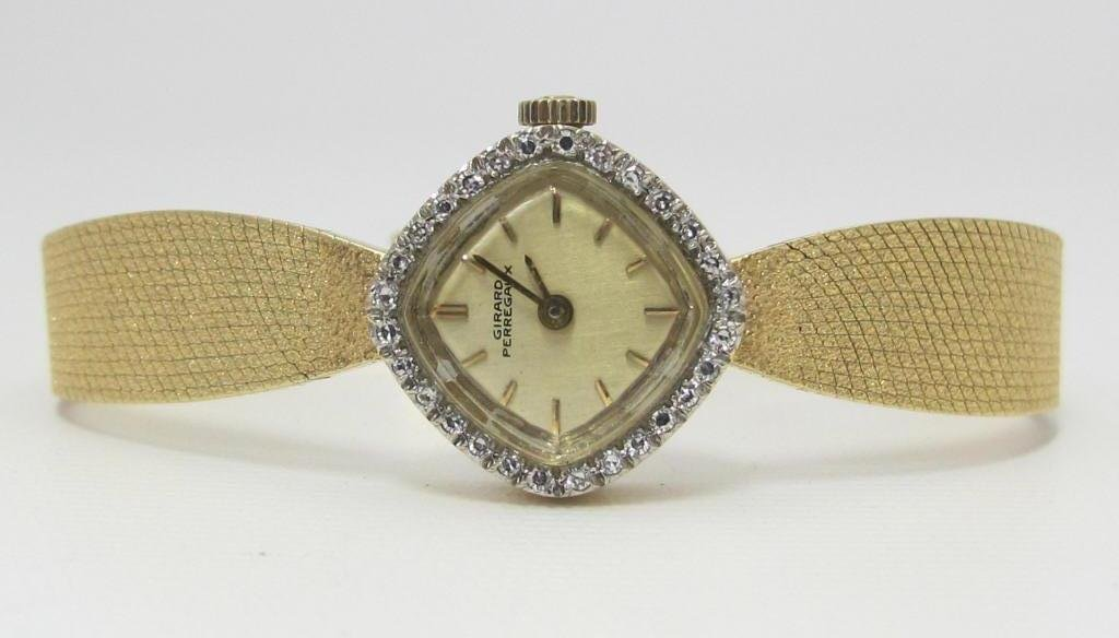 Girard Perregaux Lady's Yellow 14K Watch - 3