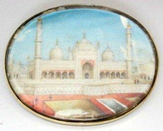 19th C Pair of India  Architectural  Miniatures - 3