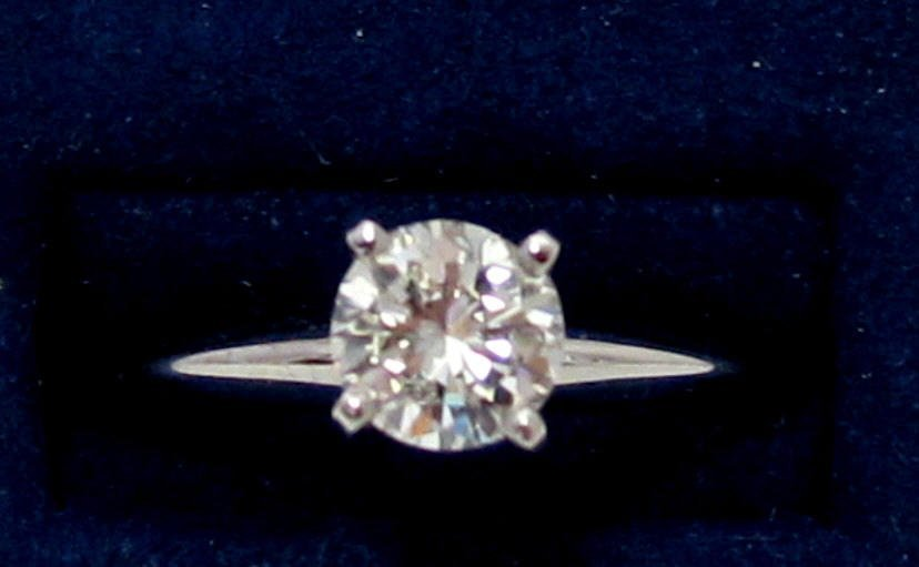 3/4 Ct. Solitaire Diamond Engagement Ring