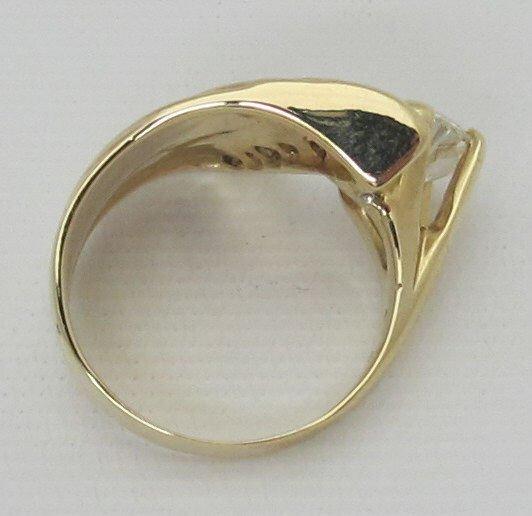 Contemporary 1.89 Ct. Diamond Ring 14K - 2