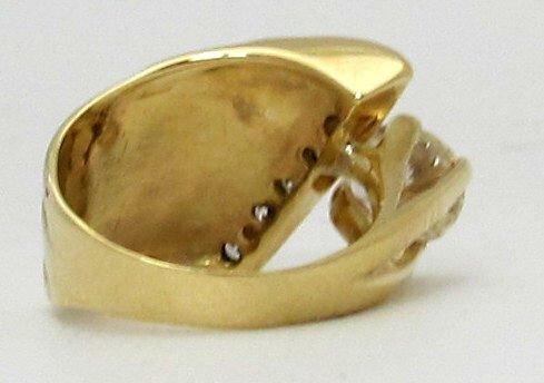 Contemporary 1.89 Ct. Diamond Ring 14K - 3