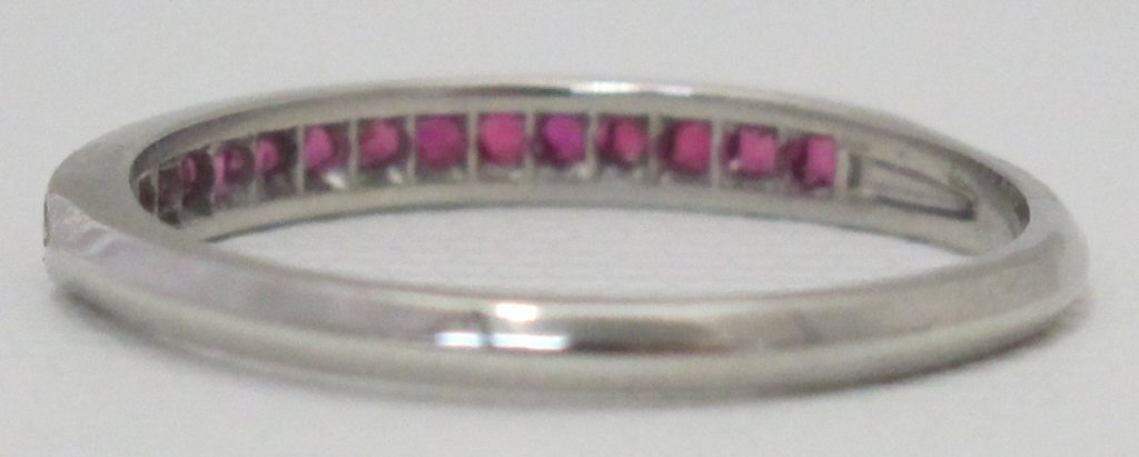 Platinum Ruby Ring - 3