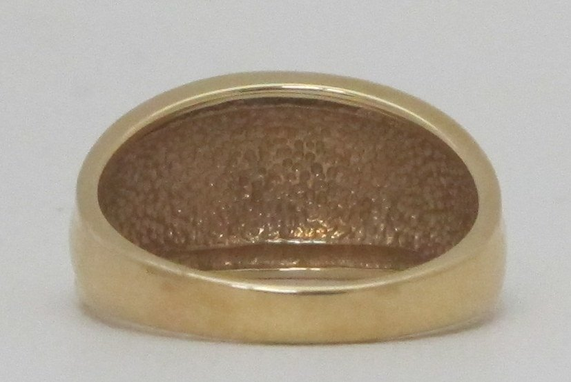 14K Tapered Gold Band - 3