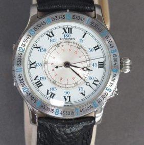 Longines Hour Angle Wrist Watch Lindbergh 1st Ed.