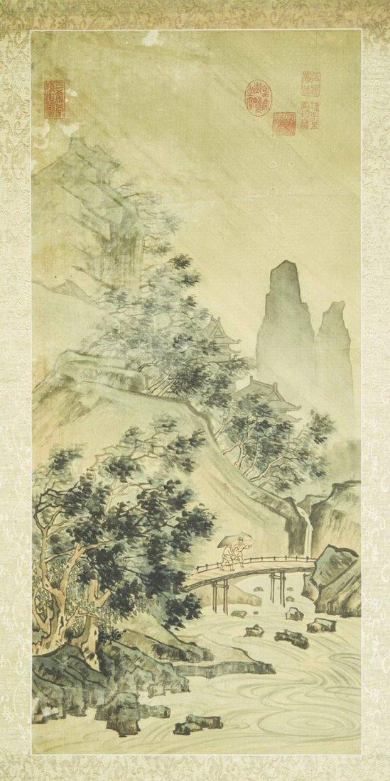 San Yi Tang landscape paonting