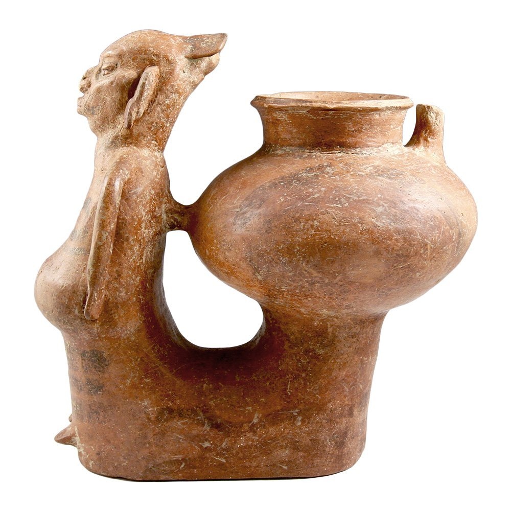 Published Veracruz Whistle Figure Vessel - 3