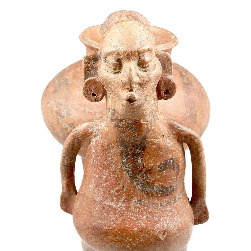 Published Veracruz Whistle Figure Vessel - 5