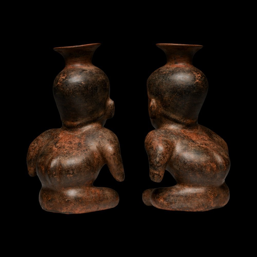 Exhibited Pre-columbian Colima Hunchback Dwarf - 4