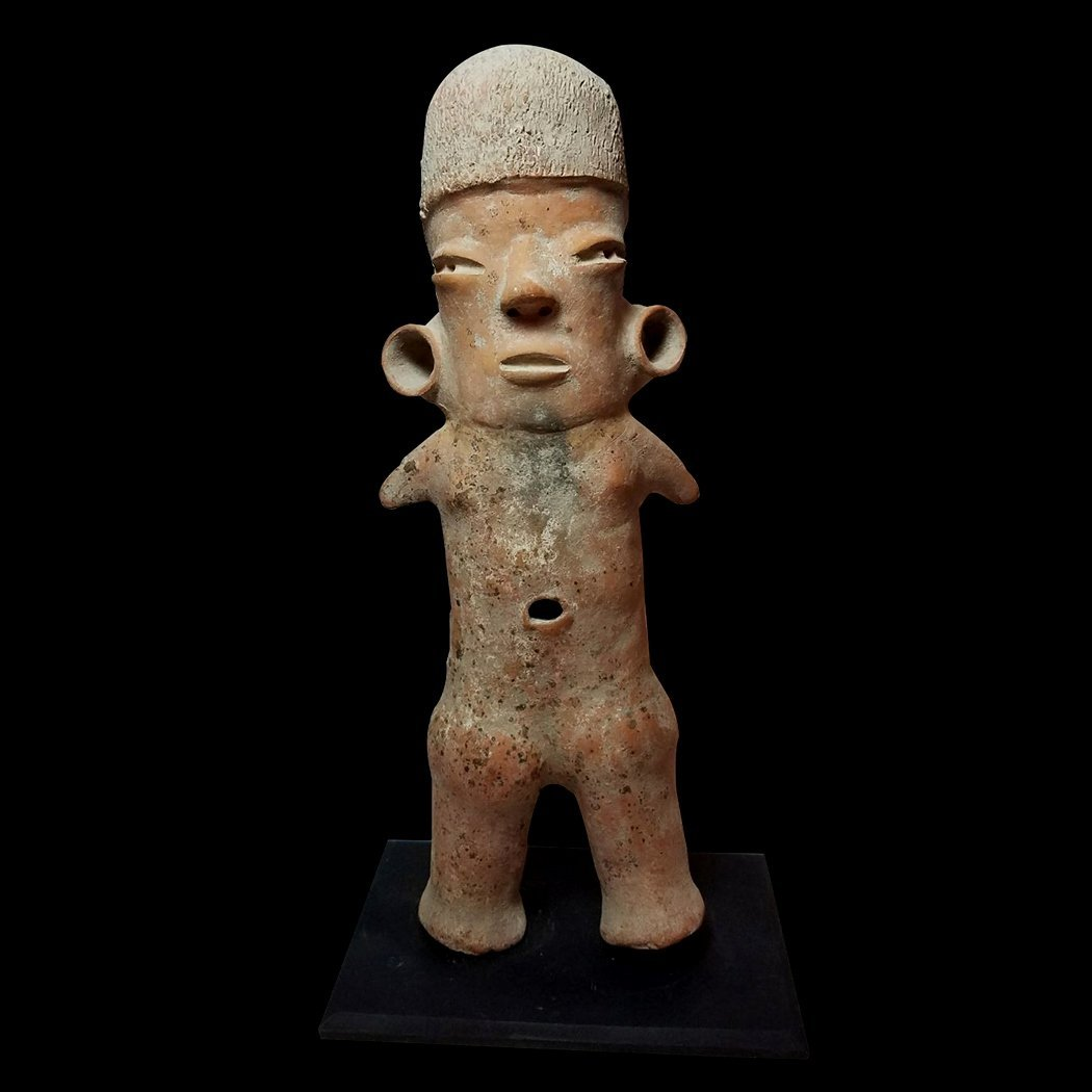 Large Pre-Columbian Tlatilco Standing Figure