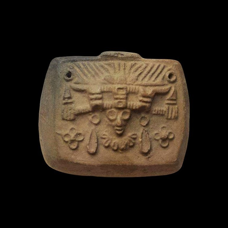 Pre-columbian Teotihuacan Pottery Stamp