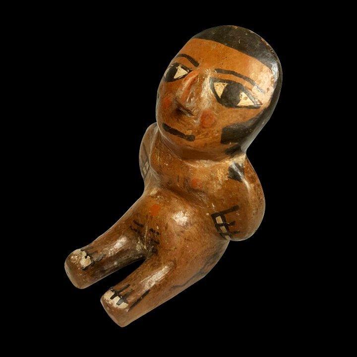 Miniature Pre-Columbian Nazca Figure - 3