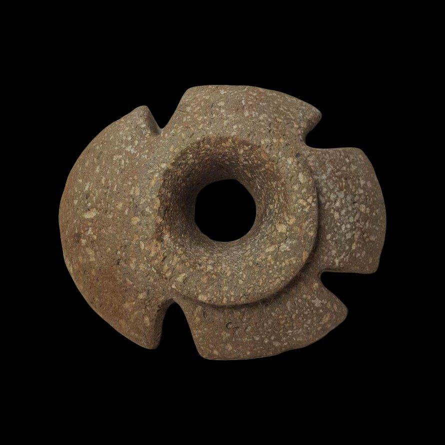 Pre-Columbian Chavin Mace head - 4