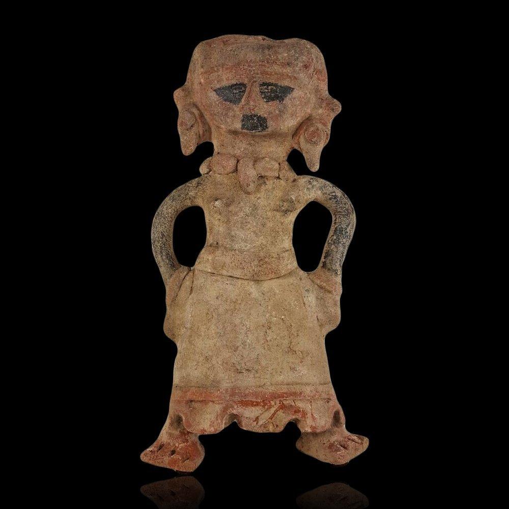 Pre-columbian Veracruz Standing Pottery Figure