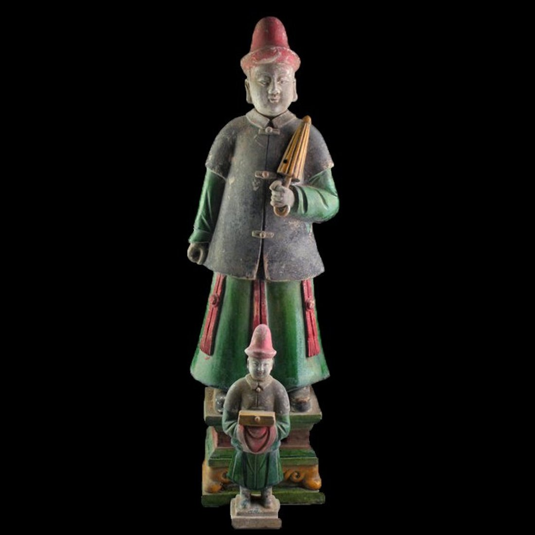 Large Ancient Chinese Ming Pottery tomb figure