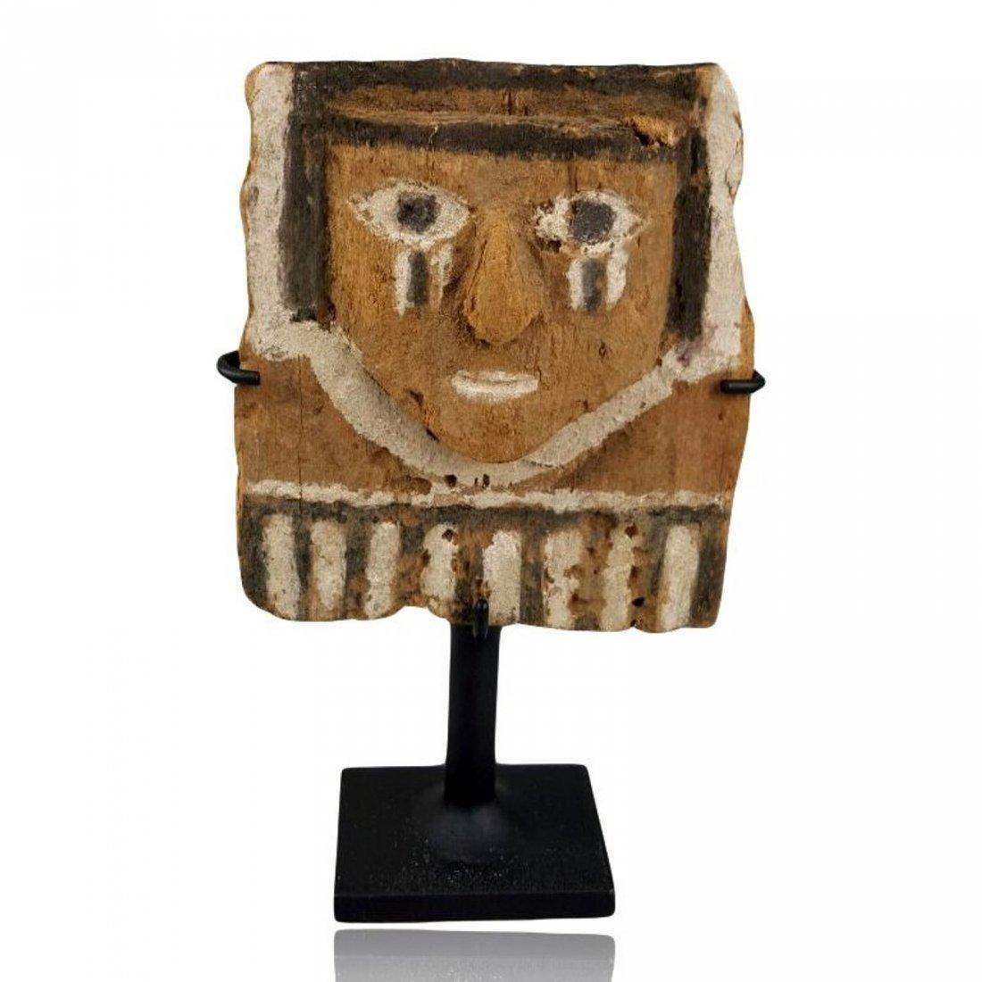 Pre-columbian Chimu Wood Figure