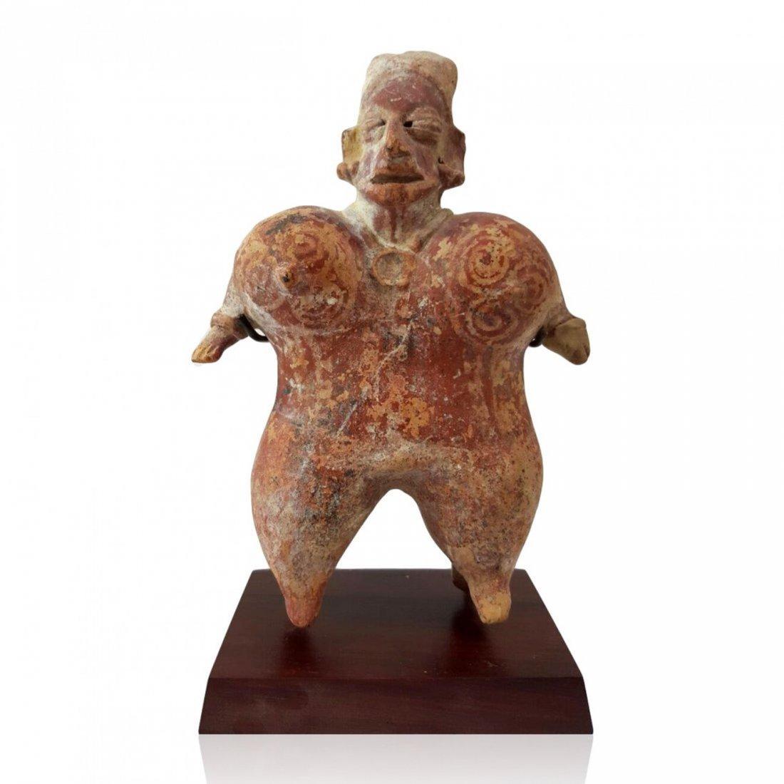 Pre-columbian Jalisco standing figure