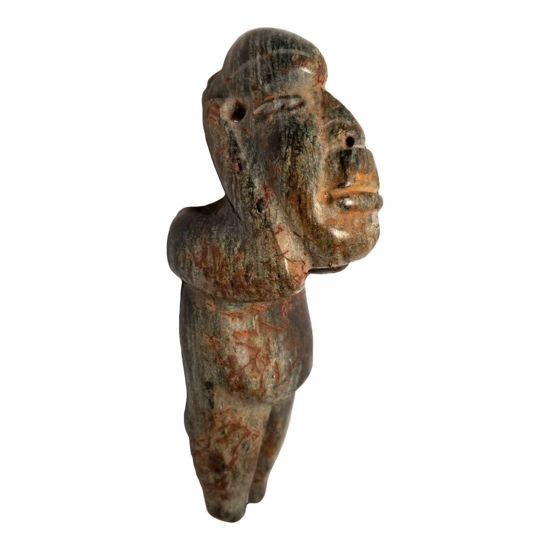 Pre-Columbian Olmec Serpentine Figure