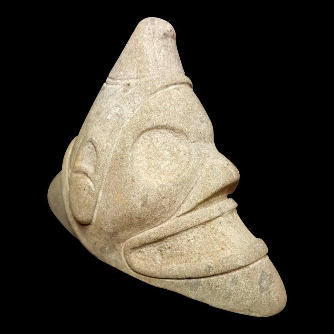Pre-Columbian Taino Stone Zemi - 3