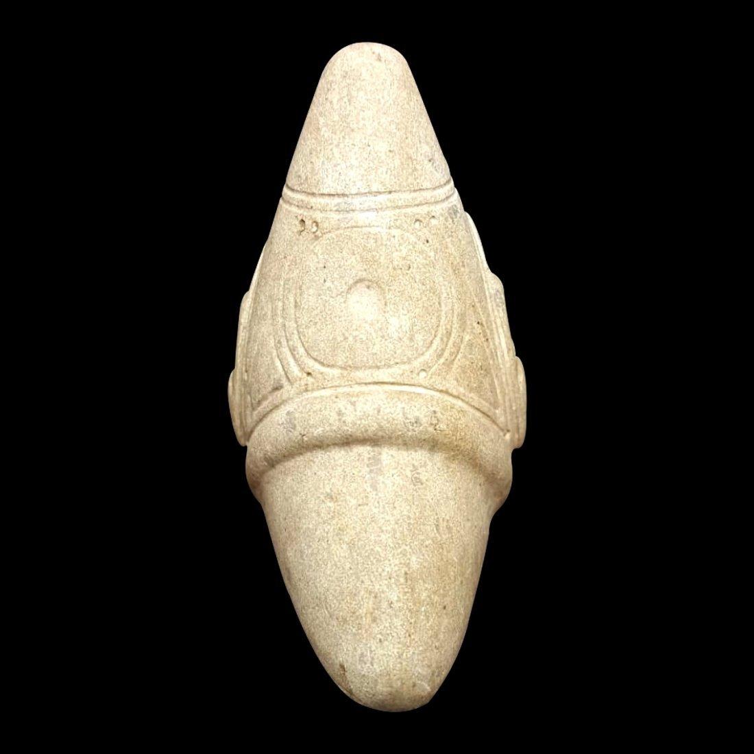 Pre-Columbian Taino Stone Zemi - 4