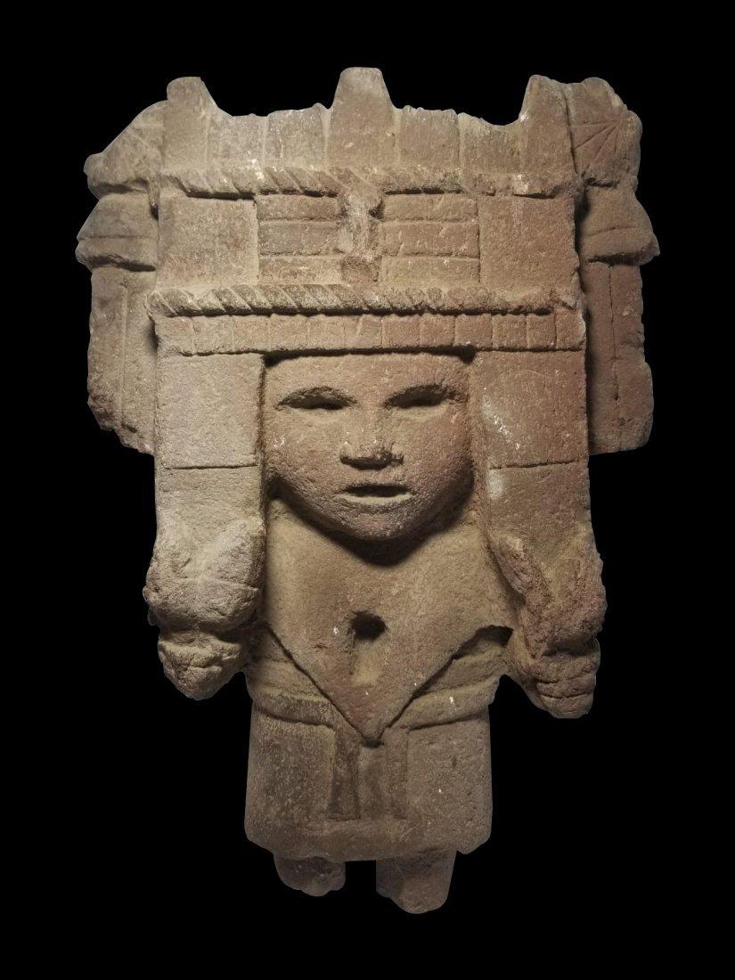 Pre-Columbian Aztec Chicomecoatl Figure