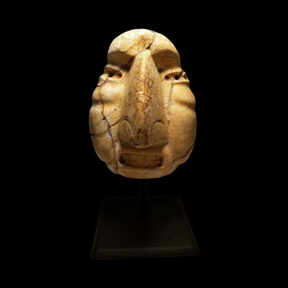 Rare Pre-Columbian Sultepec Stone Mask