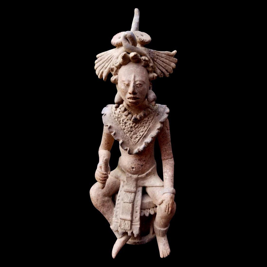 Pre-Columbian Maya Figure of a lord