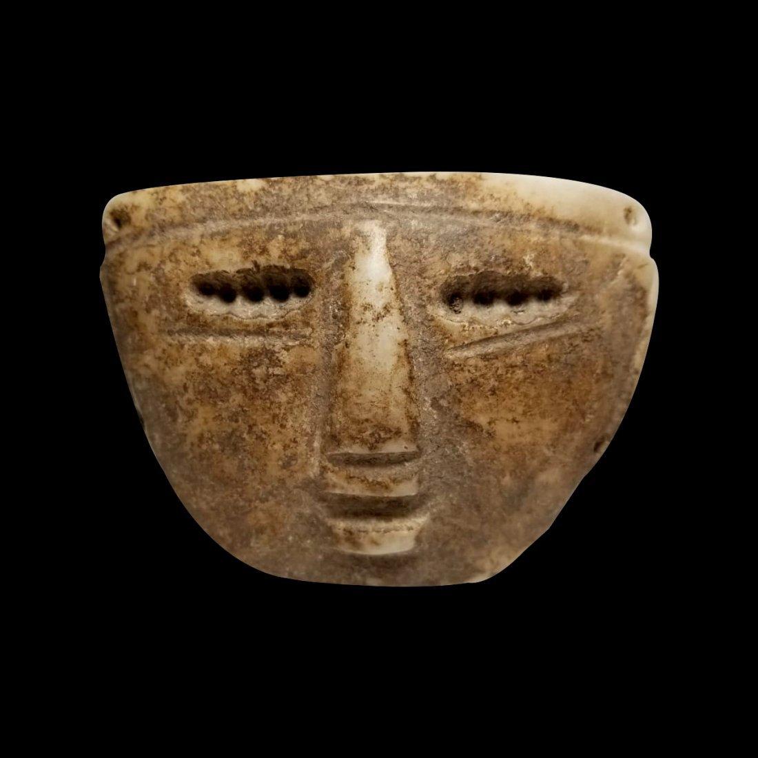 Pre-Columbian Mezcala Stone Mask