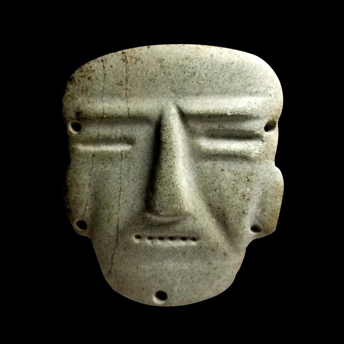 Pre-Columbian Chontal Stone Mask