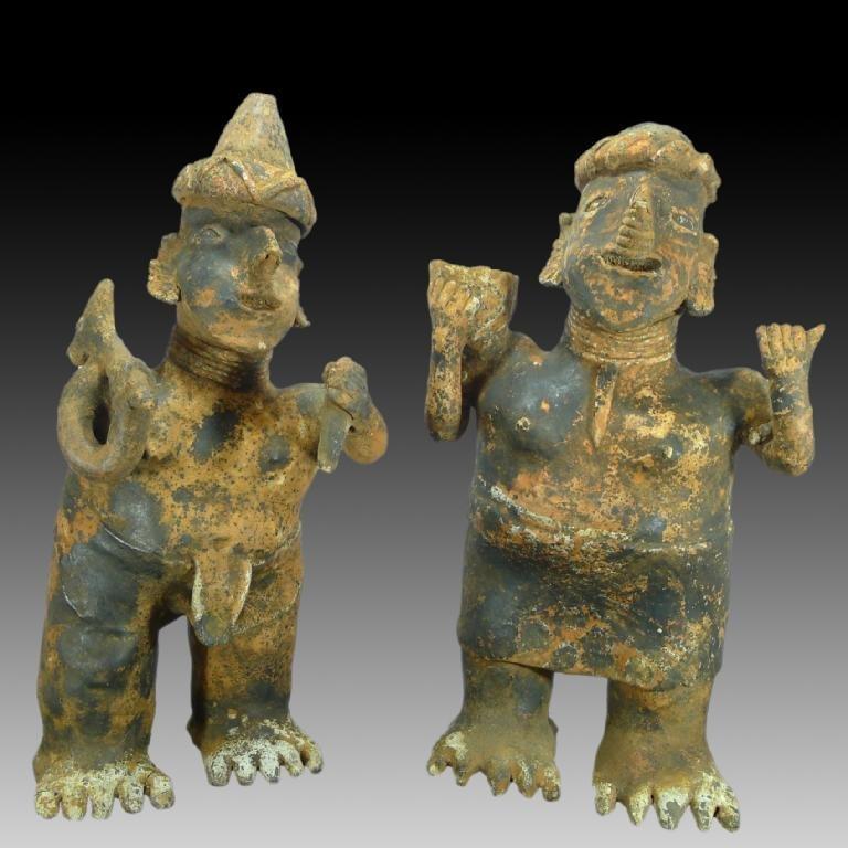 Monumental Pre-columbian Nayarit Ixtlan Del Rio Couple