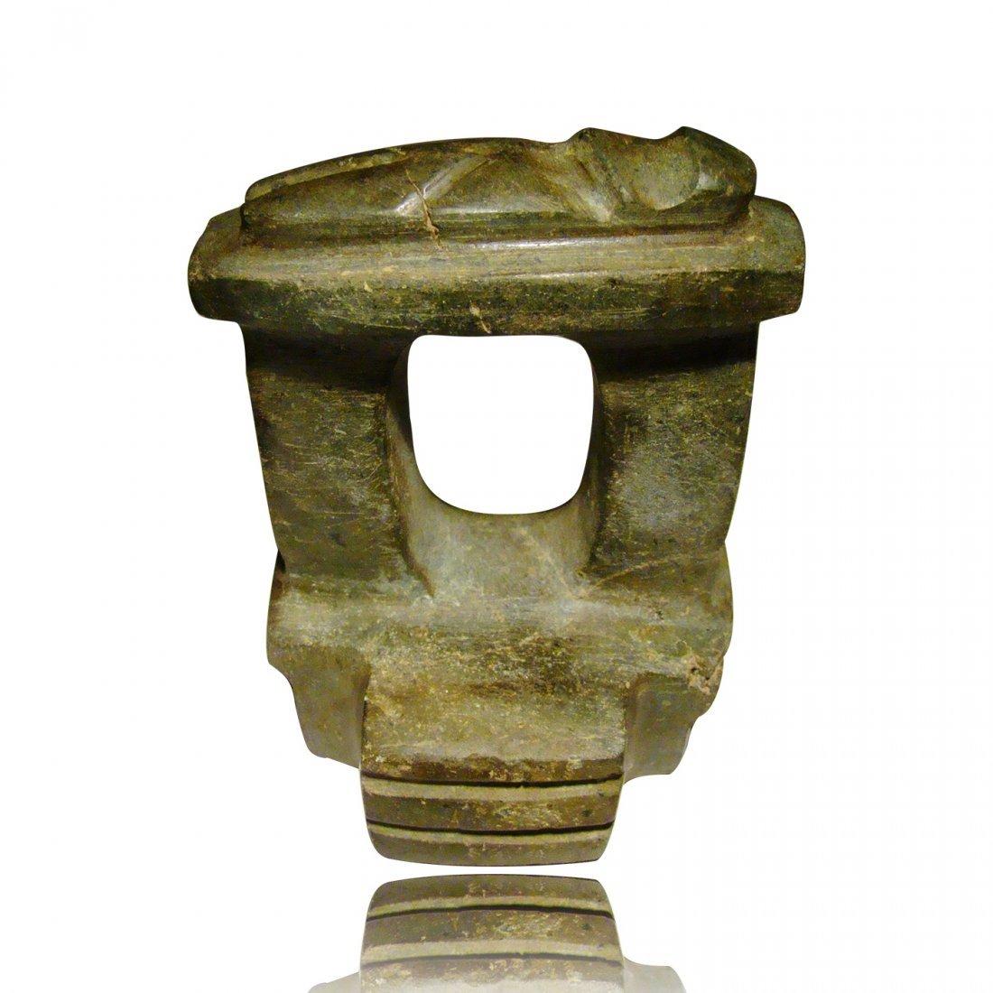 Pre-columbian Mezcala Temple Model and Recumbent Figure