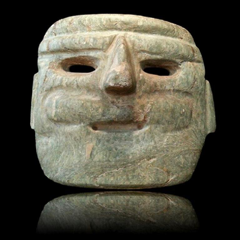 Massive Pre-classic Chontal Mask