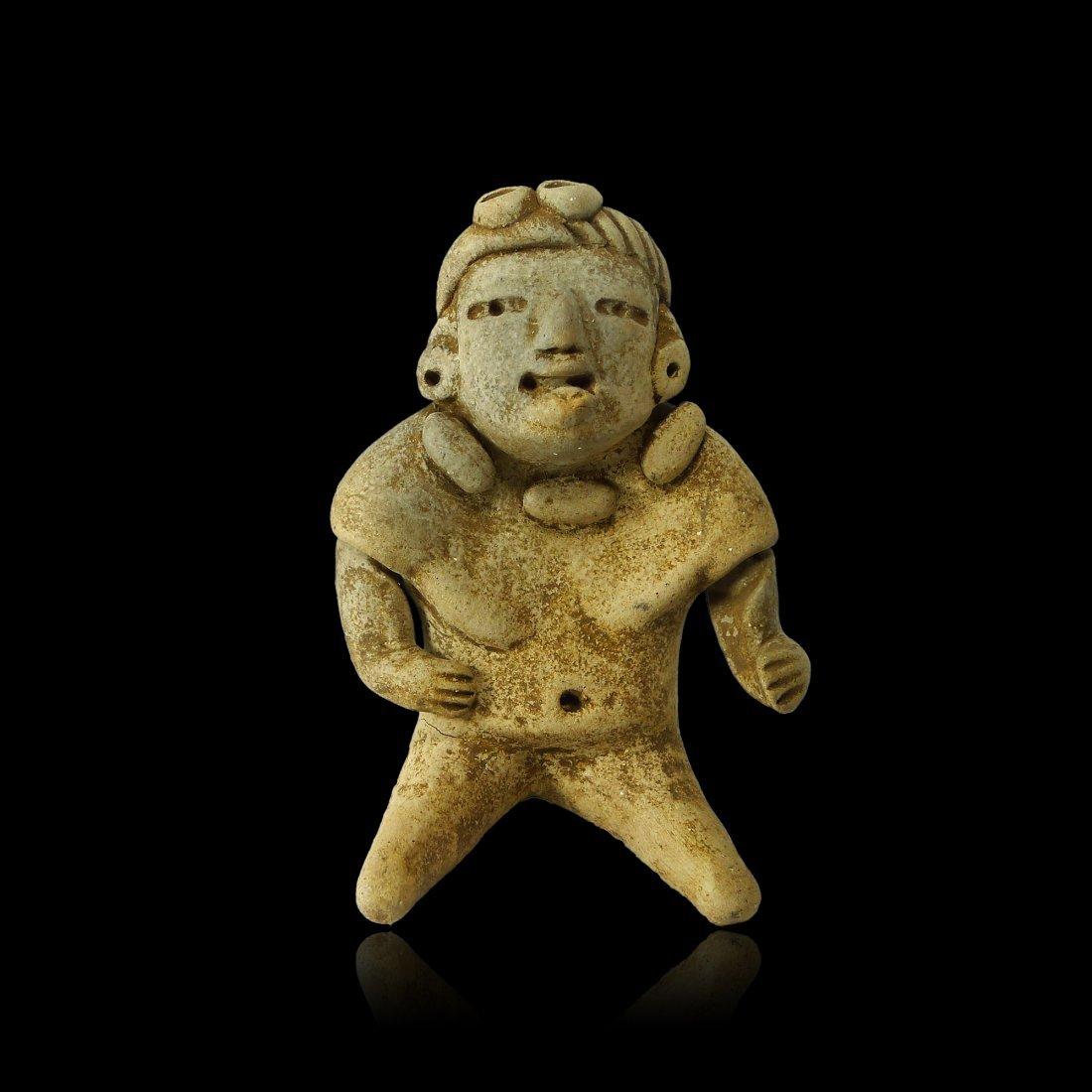 Rare Pre-Maya Olmecoid Articulated Figure