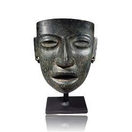 Pre-columbian Teotihuacan Stone Mask