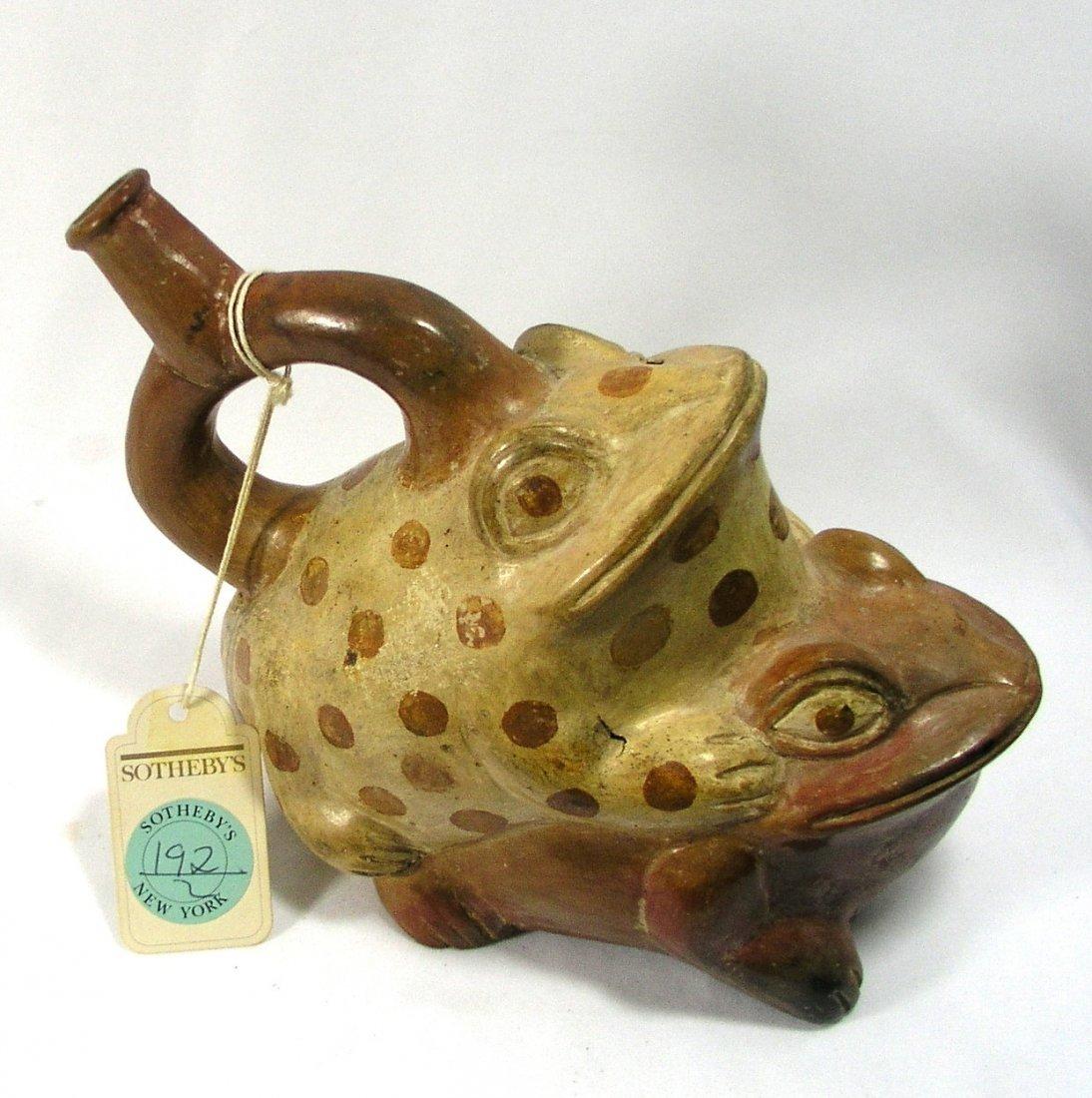 Pre-columbian Moche Copulating Frogs