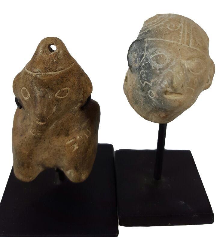 Two Pre-columbian Guangala Items