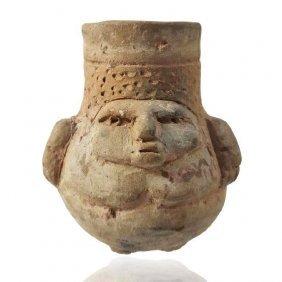 Pre-columbian Zapotec Vessel