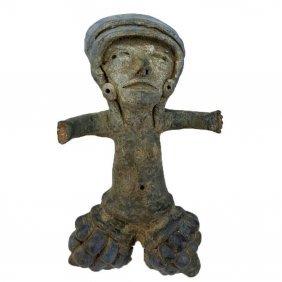 Rare Pre-columbian Tlatilco Female Figure