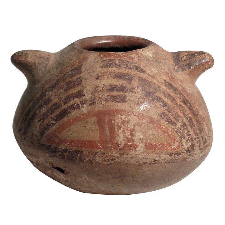 Pre-columbian Diquis polychrome jar