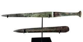 Ancient Luristan Bronze Short Sword & Blade