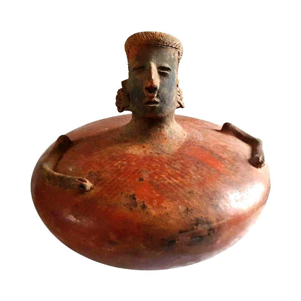Pre-columbian Nayarit Figure Vessel
