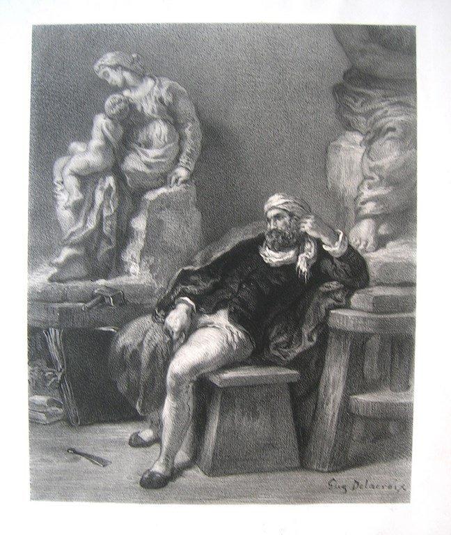 DELACROIX Eugène , (1798-1863)