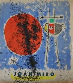 MIRO Joan, (1893-1983) Original drawing