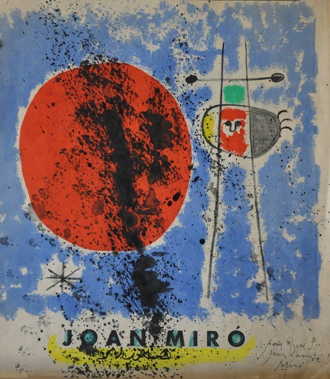 MIRO Joan, (1893-1983) Original drawing