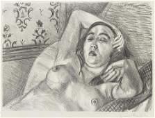 MATISSE Henri (1869-1954) Lithographie Originale Signée