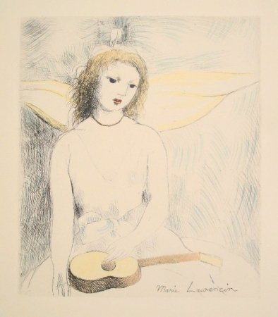 LAURENCIN Marie, (1883-1956) original etching signed