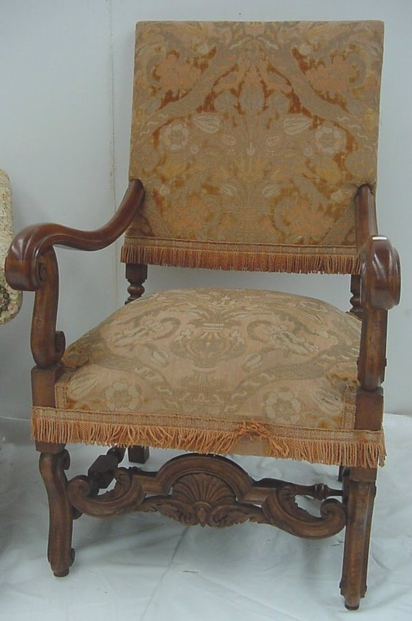 56: Pair of Carved Armchairs